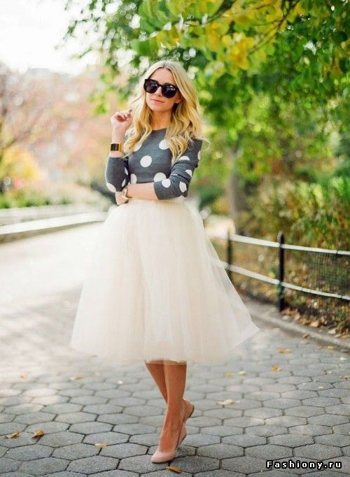 Street Style: юбка балерины (часть 3)