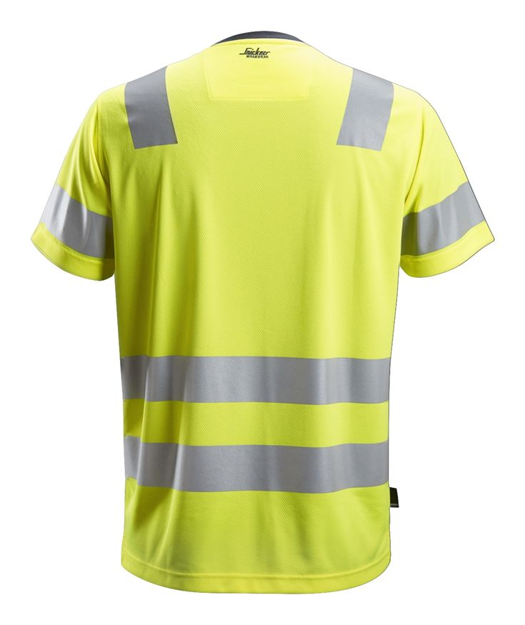 Highvis tshirt class 2 snickers workwear in 2020