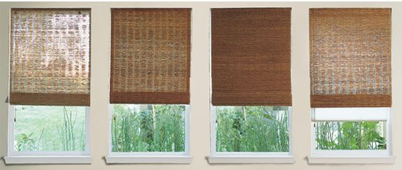 Bamboo blinds! LOVE these, and have been slowly replacing our blinds with them.  Only 3 more windows to go!