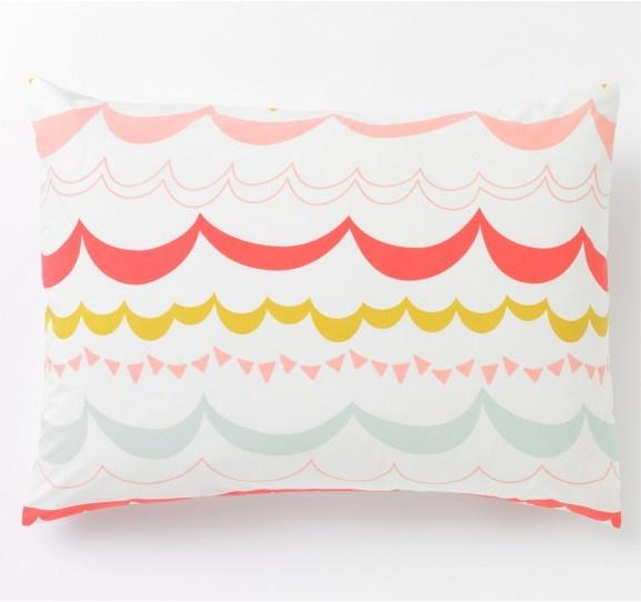 Garland Multi pillowcases from dwellstudio