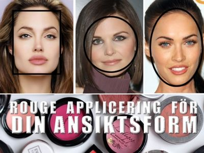 Så här applicerar du rouge på DIN ansiktsform!