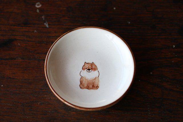 豆皿柴犬 - 大福窯