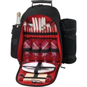 Ovation Group - Corporate Promotional Products & Ideas - 4 Person Ciera Picnic Pack w/Blanket