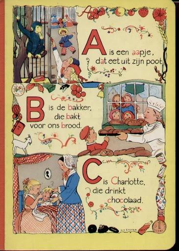 Alfabetboekje Rie Cramer