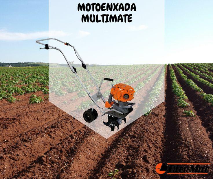 OLEO-MAC | Motoenxada Multimate || Aplicação versátil que permite trabalhar o terreno para preparação da sementeira (relvado) e criar sulcos para plantação de flores, plantas e hortaliças. Graças à sua polivalência, pode ser utilizado para as operações de arejamento do terreno. #oleomac #oleomacportugal #motoenxada #multimate #sementeira #estilodevida #flores #plantação #hortaliças #relvado #plantas #terreno