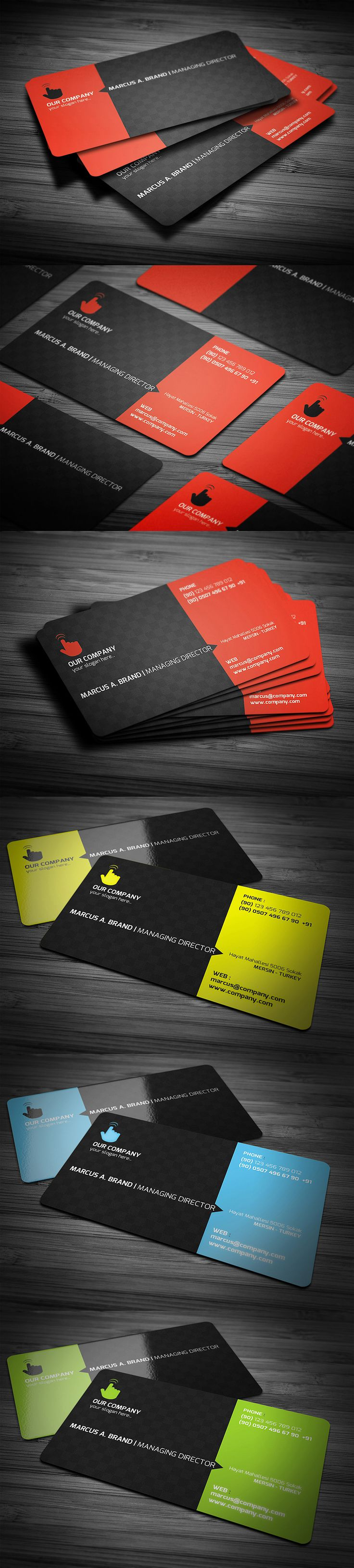 176 best business card designs images on pinterest