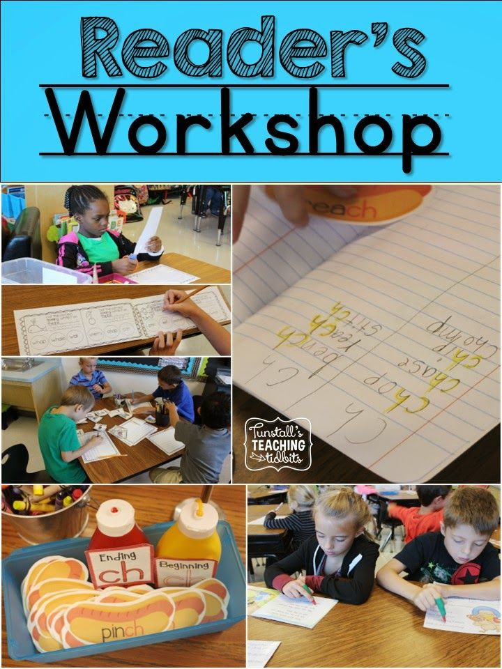 All About Reader's Workshop! - Tunstall's Teaching Tidbits
