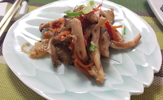 秋のナムル -- 水が出ない!舞茸とエリンギナムル | 韓国料理店に負けない韓国家庭料理レシピ「眞味」