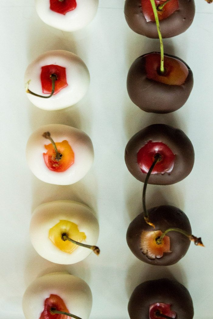 Chocolate Dipped Cherries || Local Haven
