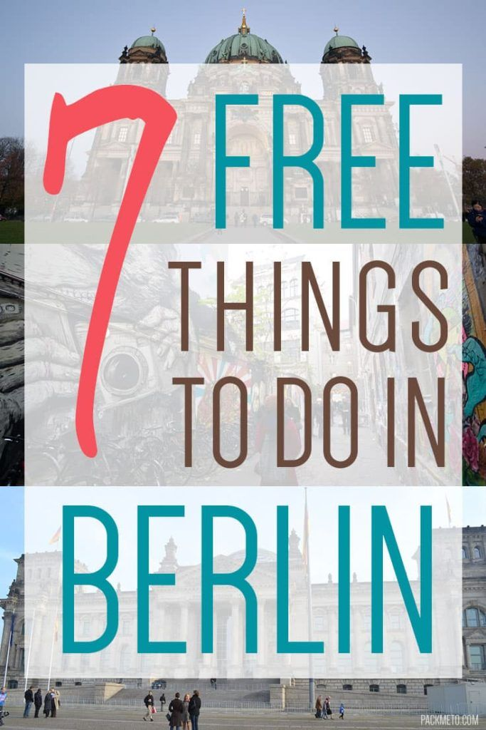 Berlin is full of attractions! Here are some great things you can do in Berlin for FREE!!!
