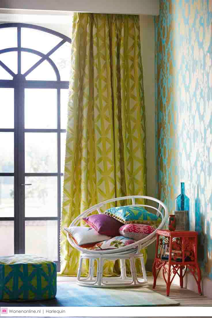 Products harlequin designer fabrics and wallpapers paradise - Harlequin Amazilia Fabric And Wallpaper Collection