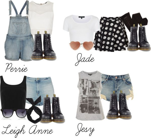 """Little Mix inspired outfits with doc martens"" by littlemix-style ❤ liked on Polyvore"
