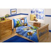 Found it at Wayfair - Woody and the Gang Toy Story 4 Piece Toddler Bedding Set