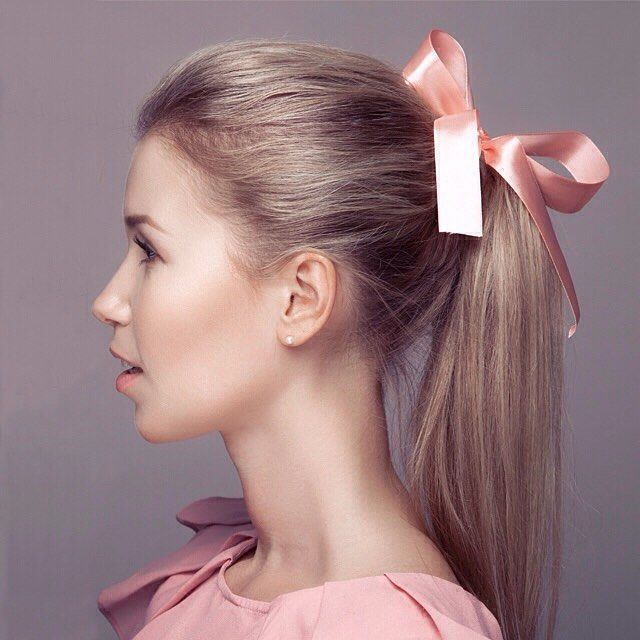 rollered hair styles best 25 ribbon hairstyle ideas on 8818
