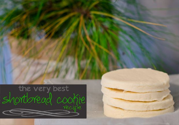 Best Shortbread Recipe {and it's GF!} - a simple, melt-in-your-mouth shortbread cookie recipe that just happens to be gluten free too!