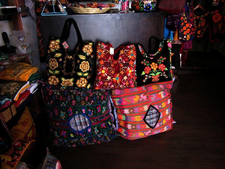 Etnico Textiles Tipicos Oaxaca: Bags / Bolsas