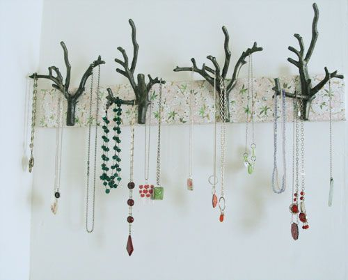 40 best images about trees and branches on pinterest for Tree branch jewelry holder