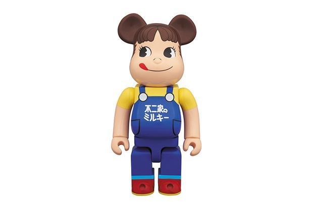 Fujiya Co. x Medicom Toy 400% Peko-Chan Bearbrick #Toy #Bearbrick #Medicom