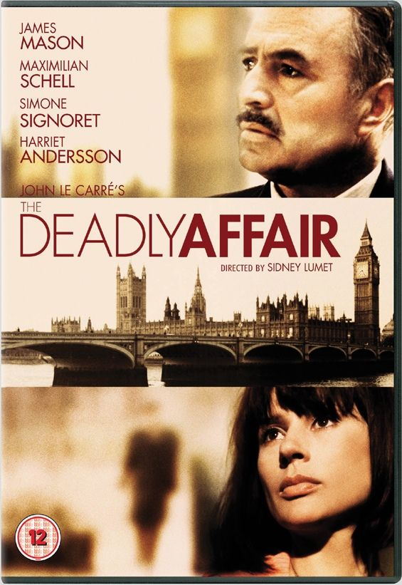 The Deadly Affair Is A 1965 British Spy Film Directed By Sidney Lumet Based On John Le Carres Novel It Stars James Mason Harry Andrews Simone Signoret