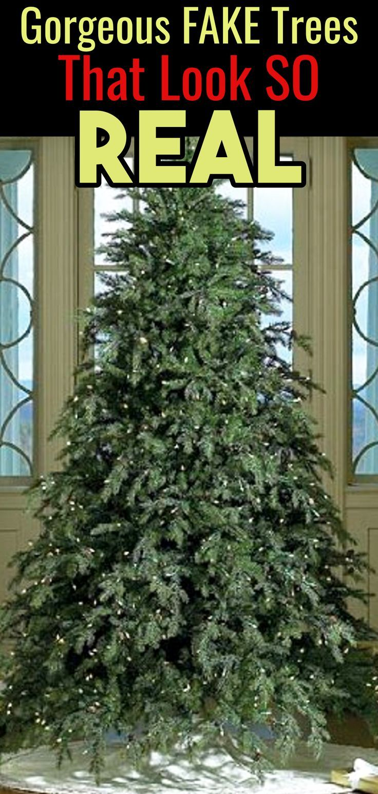 Fake Christmas Trees That Look So Real Best Affordable Artificial Christm Realistic Artificial Christmas Trees Fake Christmas Trees Realistic Christmas Trees