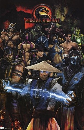 - Mortal Kombat - Group - art prints and posters