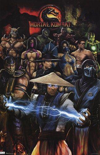 - Mortal Kombat - Group - art prints and posters