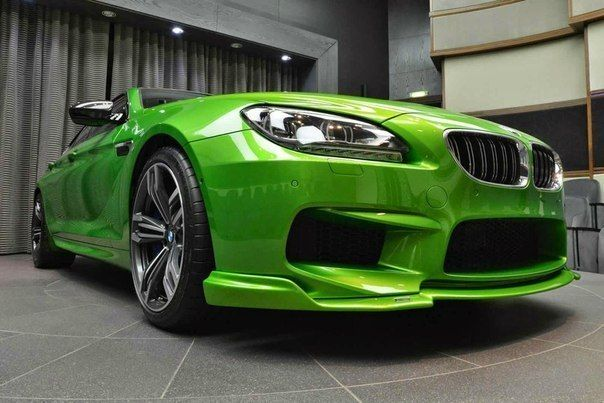 754 HP Java Green BMW M6 Gran Coupe