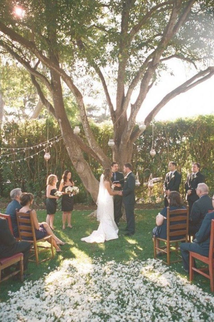 Small Wedding Intimate Outdoor Ceremony 30 Sweet Ideas For