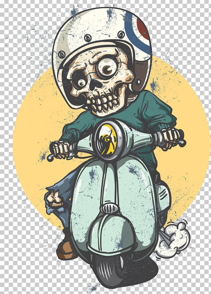 Scooter Car Vespa Decal Sticker Png Adhesive Art Car Cars