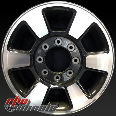 """Ford F250 F350 wheels for sale 2011-2016. 18"""" Machined rims 3843 - https://www.rtwwheels.com/store/shop/18-ford-f250-f350-wheels-for-sale-machined-3843/"""
