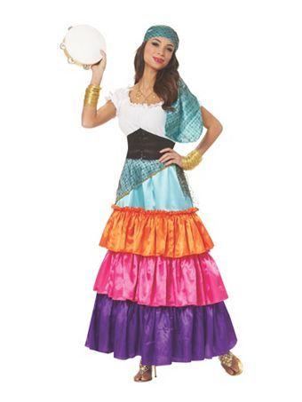 womens bohemian gypsy adult costume womens halloween costumes