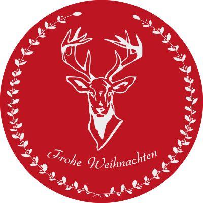 Weihnachtsaufkleber Fröhliche Weihnachten #aufkleber #weihnachten #merrychristmas #froheweihnachten #winter #weihnachten #vinyl #contctpaper #wandtattoo #wallsticker #fenster #fensterdeko #deko #window #aufkleber #sticker hirsch #deer