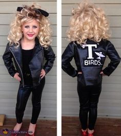 Sandy from Grease - DIY Halloween Costume This little girl is the cutest!!