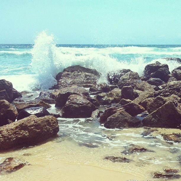 Burleigh rocks