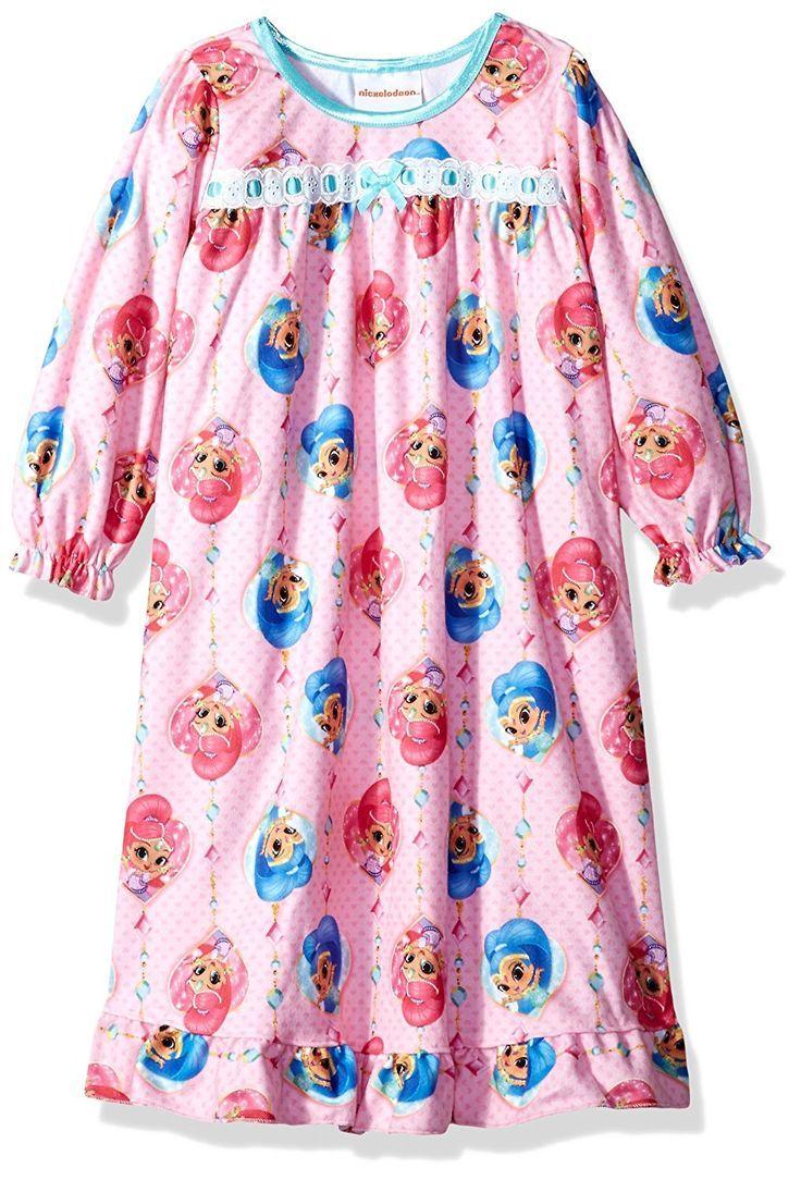 Shimmer /& Shine Girls Nightdress Nightie