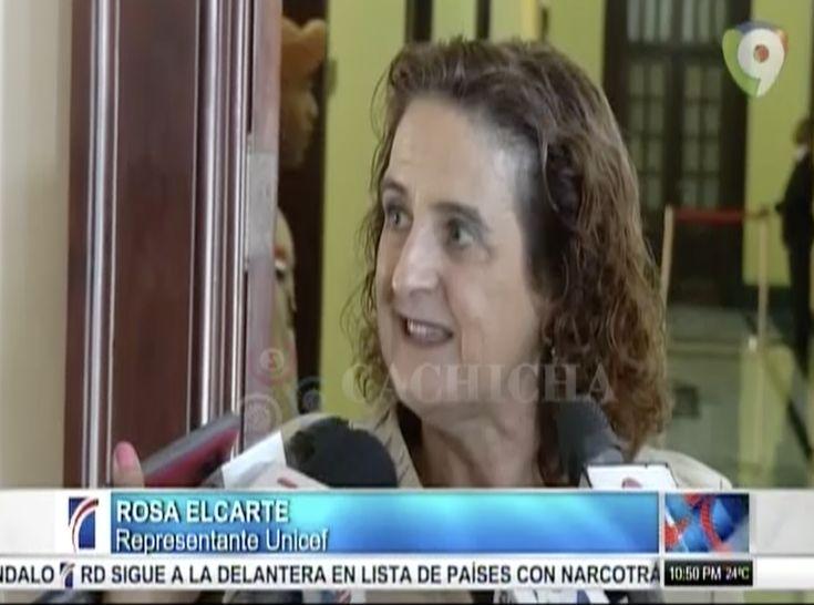 Presidente Medina Se Reúne Con Representantes De Unicef Para Registro Civil De Niños