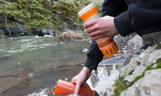 Filter will purify water ANYWHERE in the world in just 15 seconds