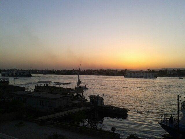 Nile river Luxor