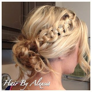 Valentines Day Hair style for long hair, ...