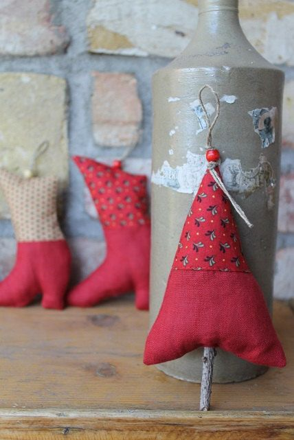 Christmas hangings by Marzena Mangin on Etsy