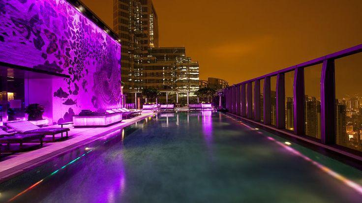The W Hotel, Hong Kong.: Whotel, Hong Kong, Rooftops Pools, W Hotels Hongkong, Swim Pools, Beautiful Places, Travel, Cities View, China