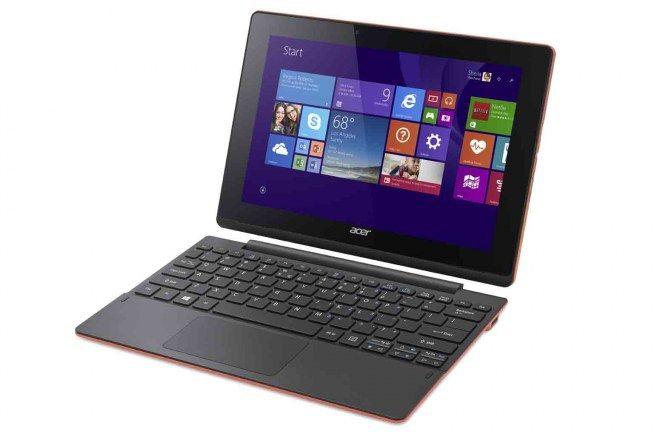 Un ordinateur portable Acer qui se transforme en tablette en un clin d'œil. Disponible en différents coloris.  Portable Aspire Switch 10 E - Acer