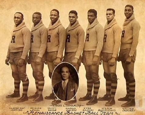 """The first African American professional basketball team """"The Renaissance"""" organized in Harlem. They were known to their many fans and admirers as """"The Rens"""" and they've been called """"the greatest basketball team you never heard of.""""...."""