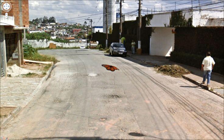 Google street view captured photography