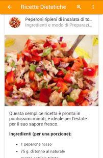 Ricette Dietetiche- miniatura screenshot