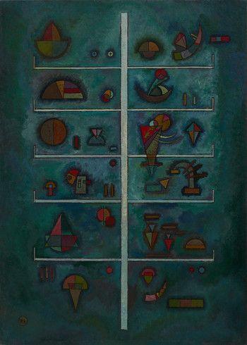 Collection Online | Vasily Kandinsky. Levels (Etagen). March 1929 - Guggenheim Museum
