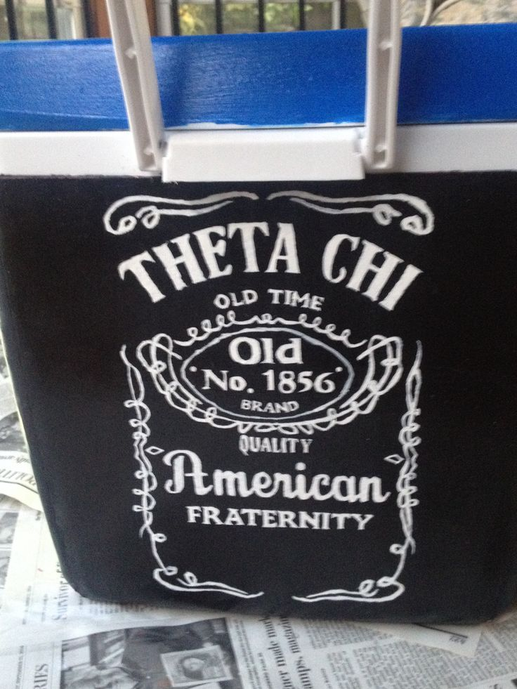 Jack Daniels / theta chi cooler