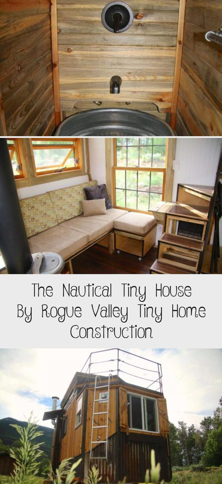 The Nautical Tiny House By Rogue Valley Tiny Home