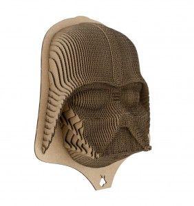 Carboard Head of Darth Vader