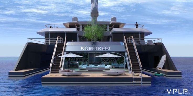 Komorebi, le superyacht avec piscine, hangar à sous-marin et... jardin japonais ! - http://www.leshommesmodernes.com/komorebi-superyacht/